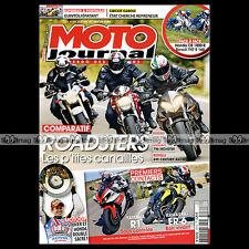 MOTO JOURNAL N°1974 BENELLI TNT 1130 R160 ★ KAWASAKI ER-6N ★ YAMAHA YZF R1 2011