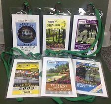 Masters Ticket Badge Holder Augusta National Golf PGA Amen Corner Azalea CHOICES