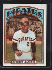 1972 Topps Roberto Clemente Pittsburgh Pirates #309 Baseball Card