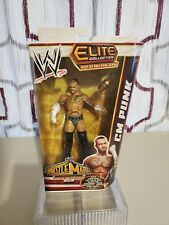 2013 WWE WWF Mattel CM Punk Elite Wrestling Figure MIP TRU Build Paul Heyman