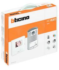 BTICINO 365511 KIT MAINS LIBRES MAISON AVEC INTERPHONE VIDÉO 100V12B LINEA 2000