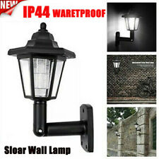 New listing Outdoor Solar Power Led Path Way Wall Landscape Mount Garden Fence Lamp Light
