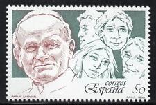 España estampillada sin montar o nunca montada 1989 SG3027 visita papal