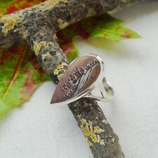 Sonora Jaspis, braun, beige, Ring, Ø 19,25 mm, 925 Sterling Silber neu