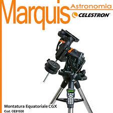 Mount The equatorial German CGX cod. CE91528 Celestron Marquis