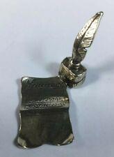 Pergamena laurea in Argento 800 Argenteria Silber Argent Plata Sterling Silver