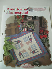 Americana Homestead Quilt Pattern Creative Scrap Quilting House of White Birches