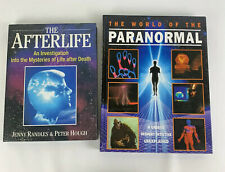 The world of the paranormal hardback book & The Afterlife Book 2 Book Bundle