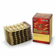 Korean Red Ginseng Roots 100% Powder Tablets_300mg x 80 Tablets(24g or 0.85oz)