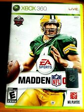 Madden NFL 09 (Microsoft Xbox 360, 2008) Ea sports video game ntsc packers adapt
