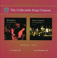 Vol. 2-Collectable King Crimson: Live In Bath 1981 - King Crims (2007, CD NUOVO)