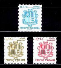 ANDORRA ESPAÑOLA 2004  312/14 Serie Básica Escudos 3v.
