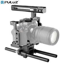 PULUZ Camera Cage Housing Stabilizer with Handle & Rail Rod for Nikon Z6 / Z7
