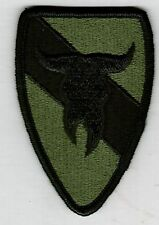 163rd ARMORED CAVALRY PATCH  SUBDUED  SSI:k1