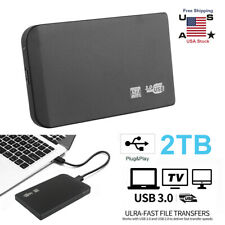 USB3.0 2TB External Hard Drive HDD Externo HD Disk Storage Devices For Laptop PC