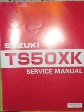 * SUZUKI TS50XK TS 50 XK 1985 - Mod. 1988 Service Manual Workshop Manual *
