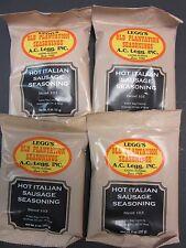 HOT ITALIAN Sausage Seasoning for 100 Lbs of Links or Ground   *Favorite Recipe*