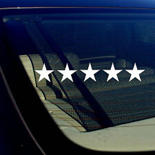 "Five Star 5 Star Funny GTA Drifting Racing Dope Vinyl Decal Sticker 19"" Inches"