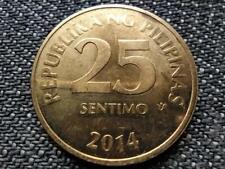 Philippines 25 Sentimo Coin 2014