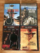 Clint Eastwood Dvd Lot High Plains Drifter Hang 'Em High Pale Rider Unforgiven