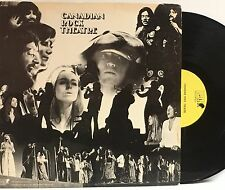CANADIAN ROCK THEATRE SELF-TITLED LP RARE YELLOW LABEL PROMO MGM RECORDS VG+