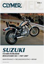 Clymer Suzuki VS1400 INTRUDER BOULEVARD Service Manual Motorcycle M482-3 70-0482