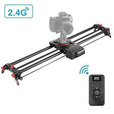 Neewer Motorized Camera Slider, 31.5-inch 2.4G Wireless Control Carbon Fiber