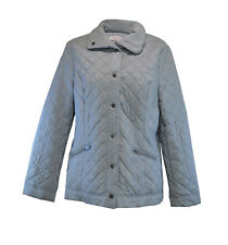 ** Jacques Vert ** Silver Grey Jacket ** Medium ** Quilted **