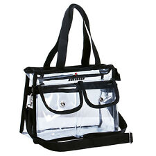 Transparent Zipper Purse Clear Handbag Tote Shoulder Crossbody Bag Fashion NFL