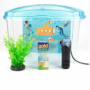 Plastic Fish Tank Aquarium for Goldfish, 18 Litres