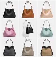 New Coach F28997 F57612 Lexy Shoulder Bag In Pebble Leather