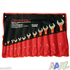 12pc Metric Combination Spanner Wrench Tool Set 6 - 32mm Crv Jumbo Spanners