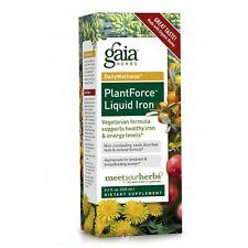 Gaia Herbs Plant Force Liquid Iron Liquid Extract 8.5 oz