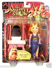 Palisades Toys Jim Henson's Muppets Show Series 1 Miss Piggy Short Hair Figure!
