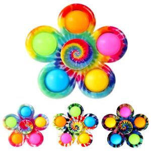 Push Bubble Toys Tactile Sensory Autism Fidget Spinner Poppet Stress Reliever