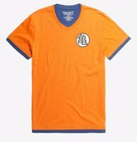 Dragon Ball Z Movie Goku Kame Symbol Layered Vneck T-Shirt New