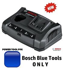 new Bosch 10.8/12V & 18V BLUE TOOL Twin BATTERY CHARGER 1600A011AA 3165140904827