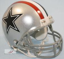 DALLAS COWBOYS (1976 Throwback) Riddell VSR4 Mini Helmet