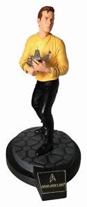 Star Trek Original Series Captain James T. Kirk Latinum Edition Statue NO COA