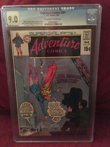 Adventure Comics #391 CGC Universal Grade 9.0 D.C. Comics 3/70