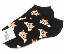 2c883f47855 Forever 21 Socks Corgi Print One Size Ankle Cotton Blend Women s Olive  Black NWT
