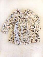 Zara Floral Dress Baby 6/9 Months