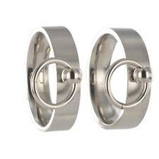 2 anelli S & M BDSM Anello dell'O Master sub slave interno + incisione esterno incl. 20125a