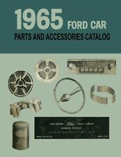 1965 Ford Car Part Numbers Book List Guide Catalog Interchange Illustrations
