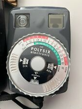 Gossen Polysix Electronic Light Exposure Meter Case Made in West Germany - Used