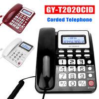 GY-T2020CID Corded Telephone Caller ID Home Office Hotel Desktop Phone Landline