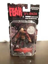 "Mezco 3 3/4"" Freddy Krueger (Cinema Of Fear, A Nightmare On Elm St, MOC, Rare)"