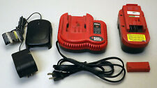 Black+Decker 18V Battery with 2 Chargers