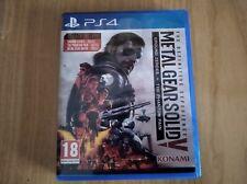 Metal Gear Solid V The definitive experience ps4 usado MUY BUEN ESTADO PAL ESP