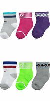 New Nike 3 Pair Gift Pack Infant Baby NewBorn Socks Size 0-6 M Boy Girl Toddler